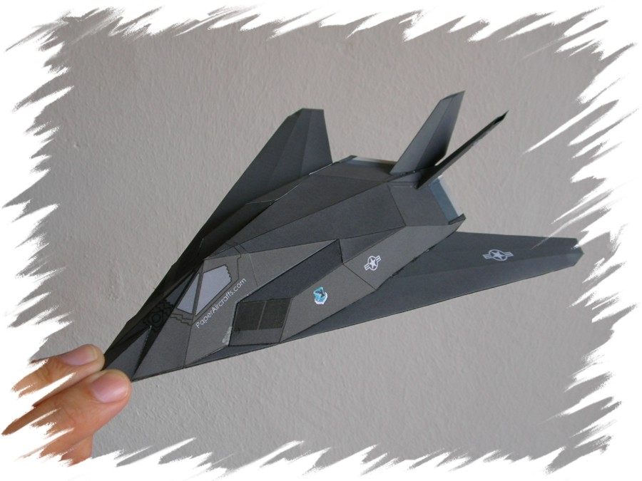 how to make a jet out of paper