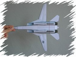 F-14 bottom PaperAircrafts
