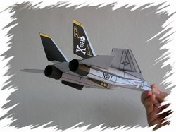 F-14 back PaperAircrafts