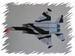 F-15 bottom PaperAircrafts